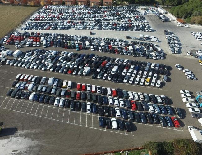 zdjęcie Sansecar parking Madrid