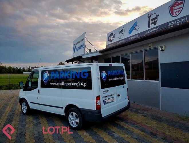 zdjęcie PARKING P24 PREMIUM parking Modlin