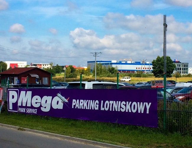 zdjęcie Mega Park Service parking Gdansk