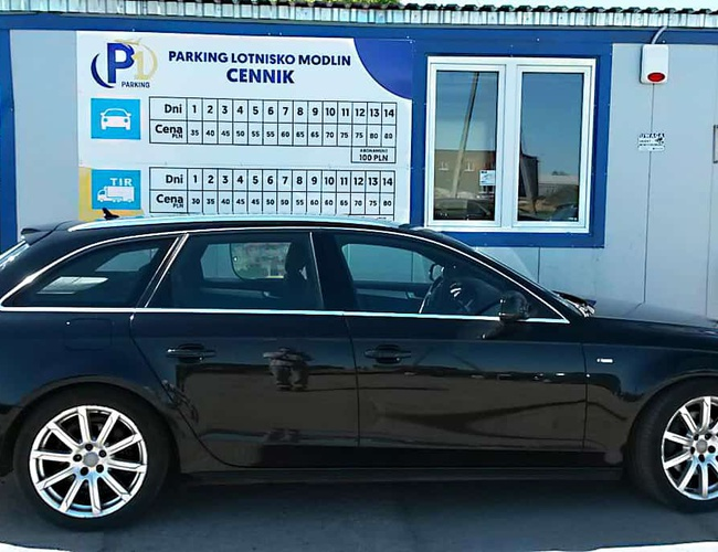zdjęcie Parking P1 parking Modlin