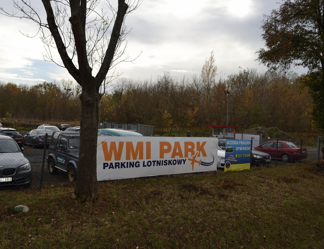 zdjęcie WMI PARK parking Modlin