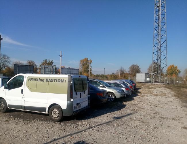 zdjęcie Bastion parking Modlin