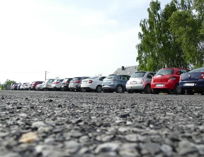 zdjęcie Diza parking Pyrzowice