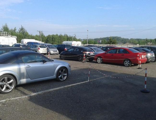 zdjęcie ArtLot parking Pyrzowice
