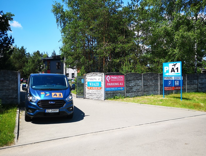 zdjęcie Parking A1 parking Pyrzowice