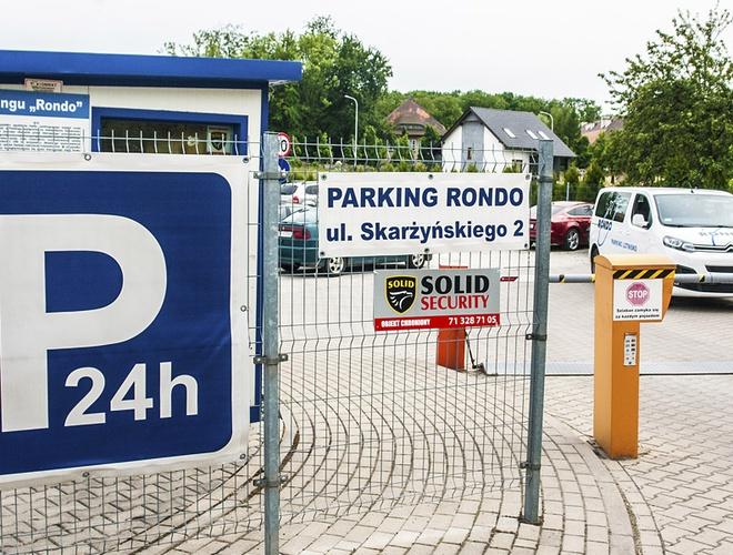 zdjęcie Rondo parking Wroclaw