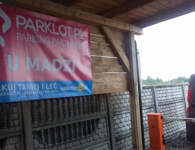 zdjęcie U Madzi parking Pyrzowice