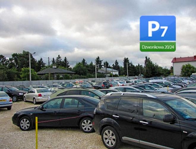 zdjęcie P7 parking Okecie