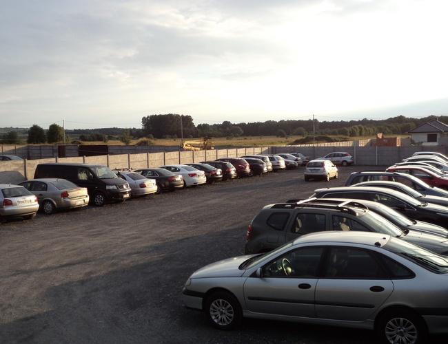 zdjęcie Azyl parking Pyrzowice
