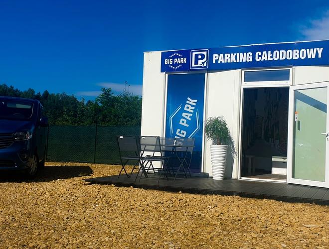 zdjęcie Big Park parking Pyrzowice