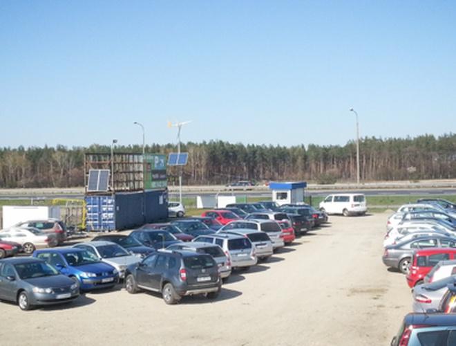 zdjęcie Parking Pod Wiatrakiem parking Modlin