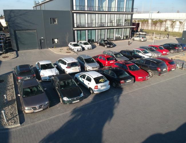 zdjęcie P22 Krakowska parking Okecie