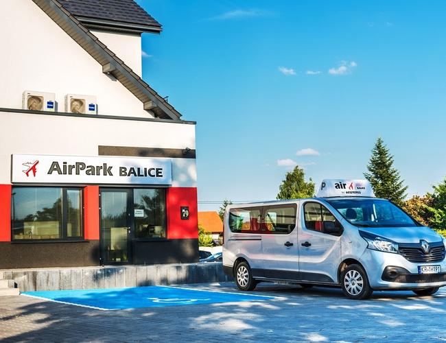 zdjęcie AirPark parking Balice