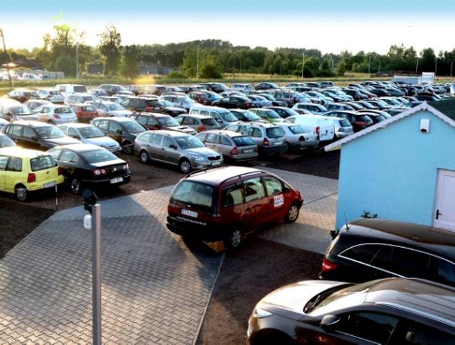 zdjęcie AMDM parking Pyrzowice