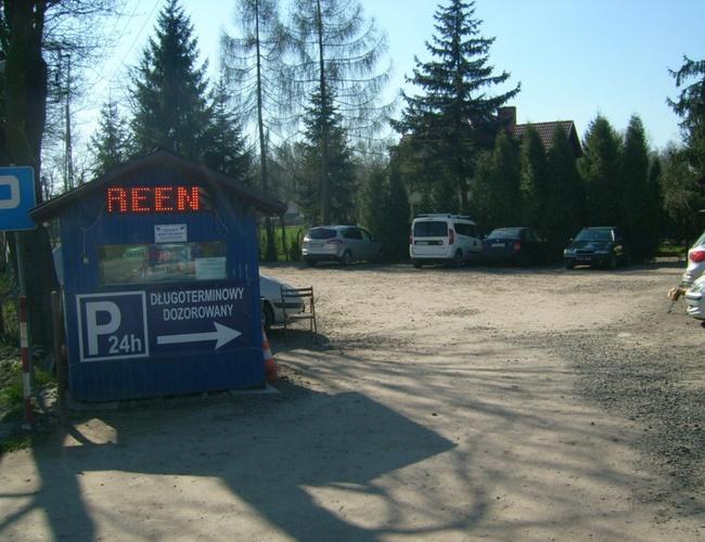 zdjęcie Green Bis parking Balice