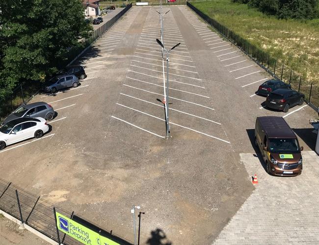 zdjęcie Depozyt parking Pyrzowice