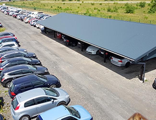 zdjęcie MTM parking Pyrzowice