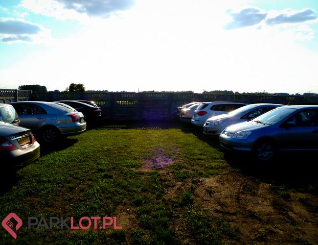 zdjęcie Panorama parking Pyrzowice