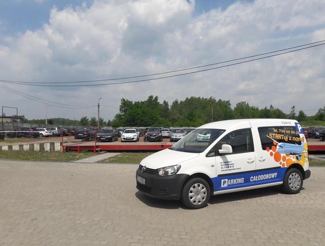zdjęcie Startuj z Nami parking Pyrzowice