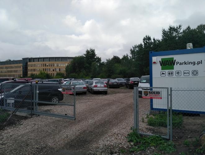 zdjęcie WAW Parking parking Okecie