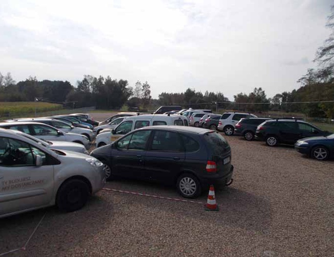 zdjęcie Samolocik parking Balice