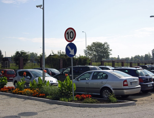 zdjęcie Rondo parking Wrocław