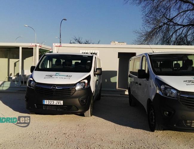 zdjęcie Aparcamadrid parking Madrid