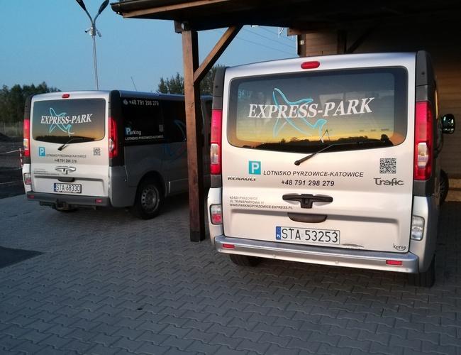 zdjęcie Express parking Pyrzowice