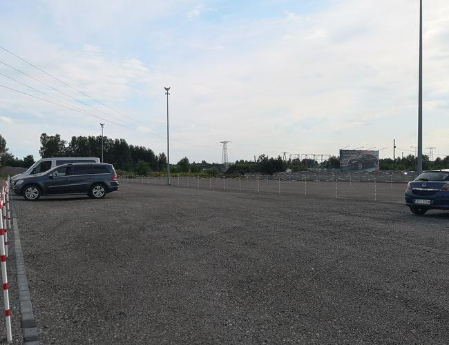 zdjęcie A1 Rondo parking Pyrzowice
