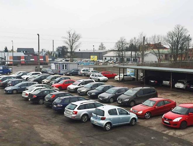 zdjęcie Parking P1 parking Модлин