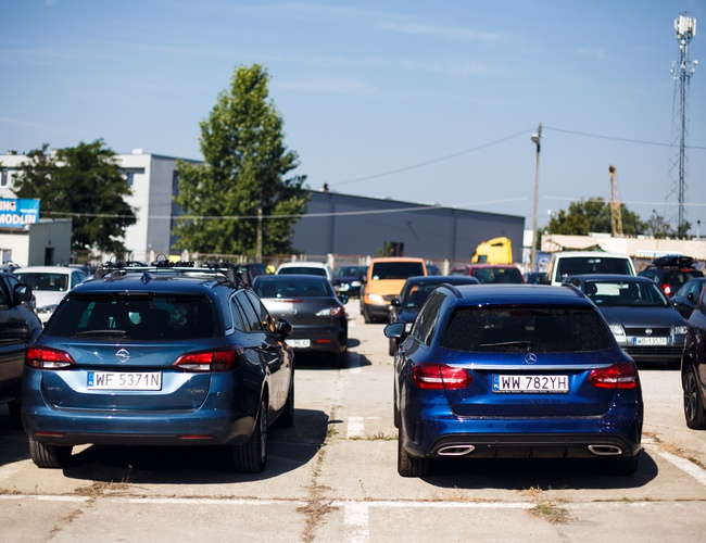 zdjęcie Fort Parking parking Modlin