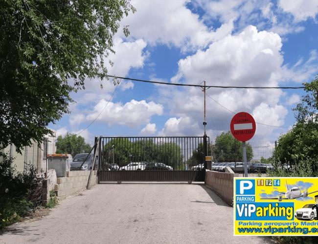 zdjęcie ViParking parking Madrid