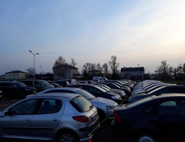 zdjęcie Parking Travel parking Okęcie